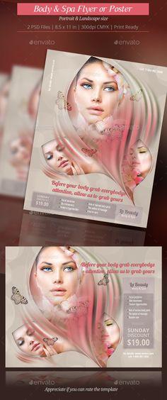 Hair \ Beauty Billboard Billboard, Signage and Logos - hair salon flyer template
