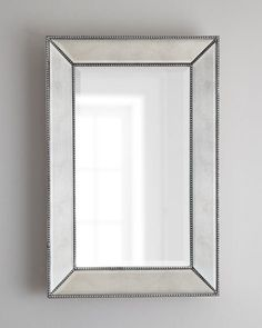 Beaded Wall Mirror Horchow 24 X 36