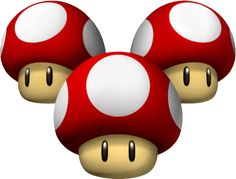 The triple mushroom power up from Mario Kart Wii, whch gives you three boosts in speed. Mario Kart 3ds, Mario Wii, Super Mario Kart, Mario And Luigi, Pac Man, Nintendo 3ds, Wii U, Tattoo Mario, Mario All Stars