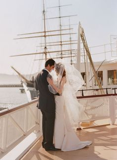 ideal wedding style:: ON A BOAT