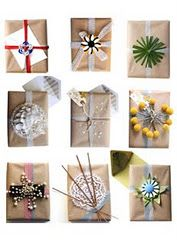 {Earth Friendly} Gift Wrapping Ideas