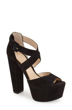 Jessica Simpson  Derian  Platform Sandal (Women) available at  Nordstrom High  Heel 3e586dc51256