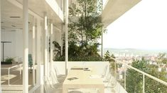 """Nicolas Laisné Associés, Lyon, France, French architecture, bio-climatic work environment, certified BREEAM Very Good, BREEAM buildings, """"EcoCités"""" design, green space, green design, green architecture, garden space, green buildings, green roof,"""