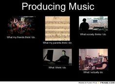 Producing music meme