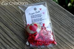 worthyoftheprize.com: {Hope for the Home}: Prayer Rock Valentine I thought this was cute then I read the tag.  It's pretty funny!