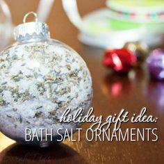 These bath salt orna