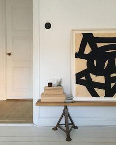Åsa Stenerhag Modern art with clean, neutral detailing.