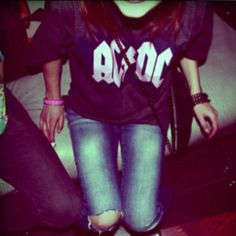 Band Tees & Ripped Jeans