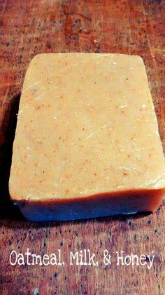 Oatmeal, Milk, & Honey Soap 3.0 oz