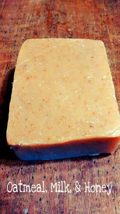 Oatmeal, Milk, & Honey Soap 3.0 oz