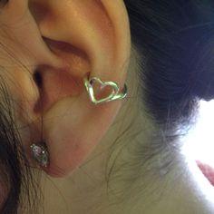 Earring cuff no pirsing needed -hannah