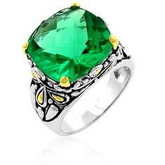 Anillo CZ Garden Cocktail Ring, viene en un bello color Green y con un revestimiento de Goldtone, Silvertone. Está hecha de .925 Sterling Silver. VENDEMOS AL MAYOR Y AL DETAL. ENVIAMOS A CUALQUIER PARTE DEL MUNDO.