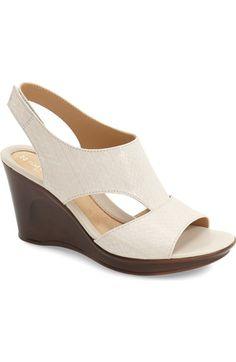 Naturalizer 'Orrin' Wedge Sandal (Women) available at #Nordstrom
