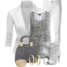 """""""CASUAL FRIDAY #3"""" by arjanadesign on Polyvore"""