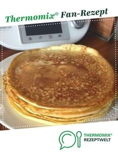 Weltbeste Pfannekuchen von Astichen. Ein Thermomix ® Rezept aus der Kategorie Grundrezepte auf www.rezeptwelt.de, der Thermomix ® Community.