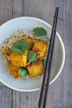 chilli tofu by My Darling Lemon Thyme, via Flickr