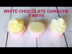 How to make White Chocolate Ganache - YouTube
