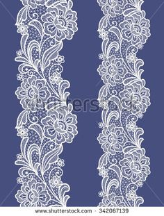 seamless  abstract lace  floral   background