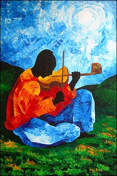 Ti Jean - Air on the G String by Patricia Brintle