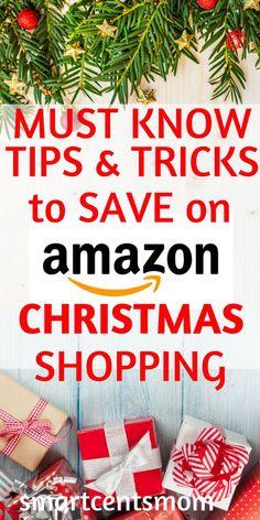 These are amazing money saving hacks on AMAZON! These saving money hacks are the BEST way to save on Christmas Shopping!    #budgetshopping  #christmastime  #christmas2017 #Amazon