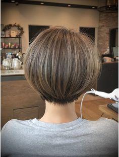 Short Hair With Bangs, Cute Hairstyles For Short Hair, Short Hair Styles, Cute Haircuts, Short Cuts, Great Hair, Hair Designs, Bob Cut, Yahoo Beauty