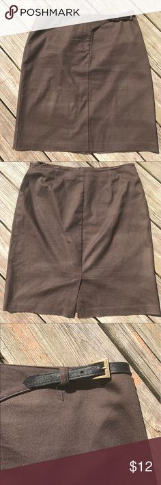 Brown Skirt Great condition :) Charter Club Skirts Midi
