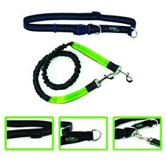 Hands Free Dog Leash by ClickGoFit-Extendible Bungee 48 inch-Reflective Bands-Adjustable Waist Belt-Perfect for Hike Walk or Jog-Exercise with your pet *** Check this awesome image  (This is an amazon affiliate link. I may earn commission from it)
