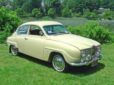 Saab 96 ~ It's so cute, haha!