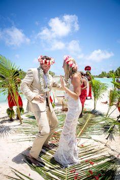 Destination wedding Four Seasons Bora Bora