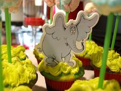 Dr. Suess Party....Horton Hears a Who
