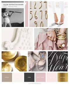 Logo + Website Design :: Glamour Nest Interior Design - Saffron Avenue : Saffron Avenue