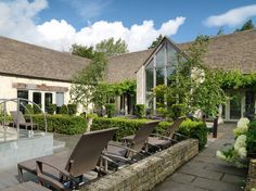 Wonderful spa day at Calcot Manor.