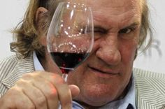 Depardieu to be face of Crimean wine?