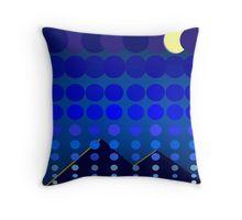 Nightfall Blue Throw Pillow Blue Throw Pillows, Folk Art, Texture, Blanket, Create, Color, Shopping, Design, Surface Finish