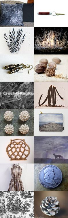 Earthy Blue by Olga on Etsy--Pinned+with+TreasuryPin.com
