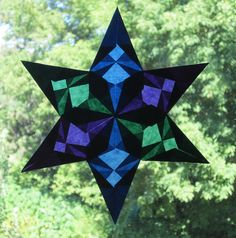 Six Pointed Star by Pictures by Ann, via Flickr