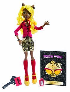 Monster High - Muñeca Zombiwood Claudia Wolf (Mattel BLW96): Amazon.es: Juguetes y juegos