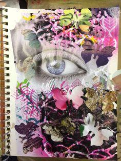 Carmen B. Norris: Art Challenge- 15 Days of 15 minute Mixed Media-9/...