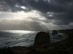 The twelve apostles on an overcast and dramatic afternoon. I have wanted to see them my whole life and I'm so so so glad I finally did. Great Ocean Road #greatoceanroad #greatoceanroadtrip #latergram #twelveapostles #12apostles  #thetwelveapostles #seeaustralia #victoria #australia #ocean #sea #naturalwonder #iphonography #iphoneonly #iphone #picoftheday #phoneonly #clouds #onepicaday  #beach #sand  #limestone #sunrays #waves #sun #afternoonsun #coast #simplymagnificent #melbourne by…