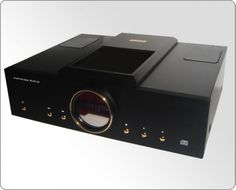 Meixing MingDa MC100-CD Vacuum tube 12AX7 CD Player black | Meixing Mingda MC100-CD Tube Top-loading CD Player