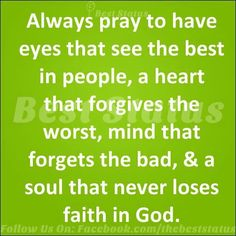 A soul that never loses faith in God :)