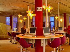 Classroom in a very Modern School - Computer room