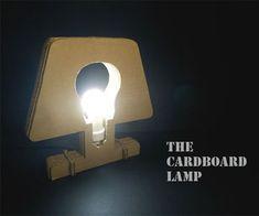 cardboard lamp inspo