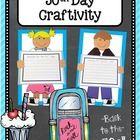 50s Kids {50th Day of School Craftivity} by Teacher at Heart   Teachers Pay Teachers