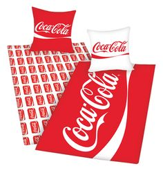 Coca-Cola Reversable Duvet Cover Set