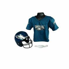 NFL Helmet and Jersey Set $22.74
