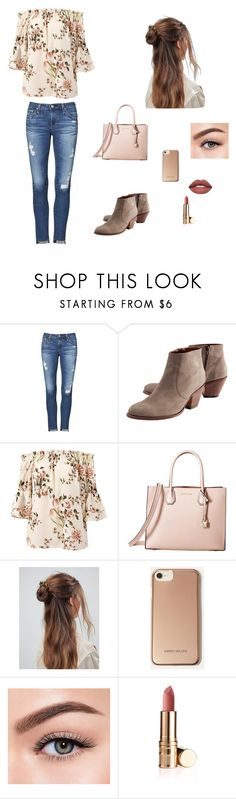 """S T Y L E"" by keziahreed on Polyvore featuring AG Adriano Goldschmied, Wrap, Sans Souci, MICHAEL Michael Kors, ASOS, Karen Millen and Morphe"