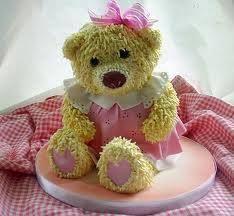 1000+ images about Teddy bear cake on Pinterest | Teddy bear cakes ...