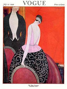 Vogue july 1920 Georges lepape