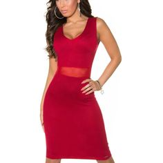 Červené šaty Koucla | OblecTo.sk